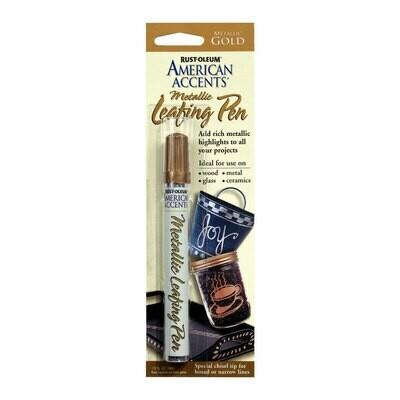 Rust Oleum Metallic Leafing Pen