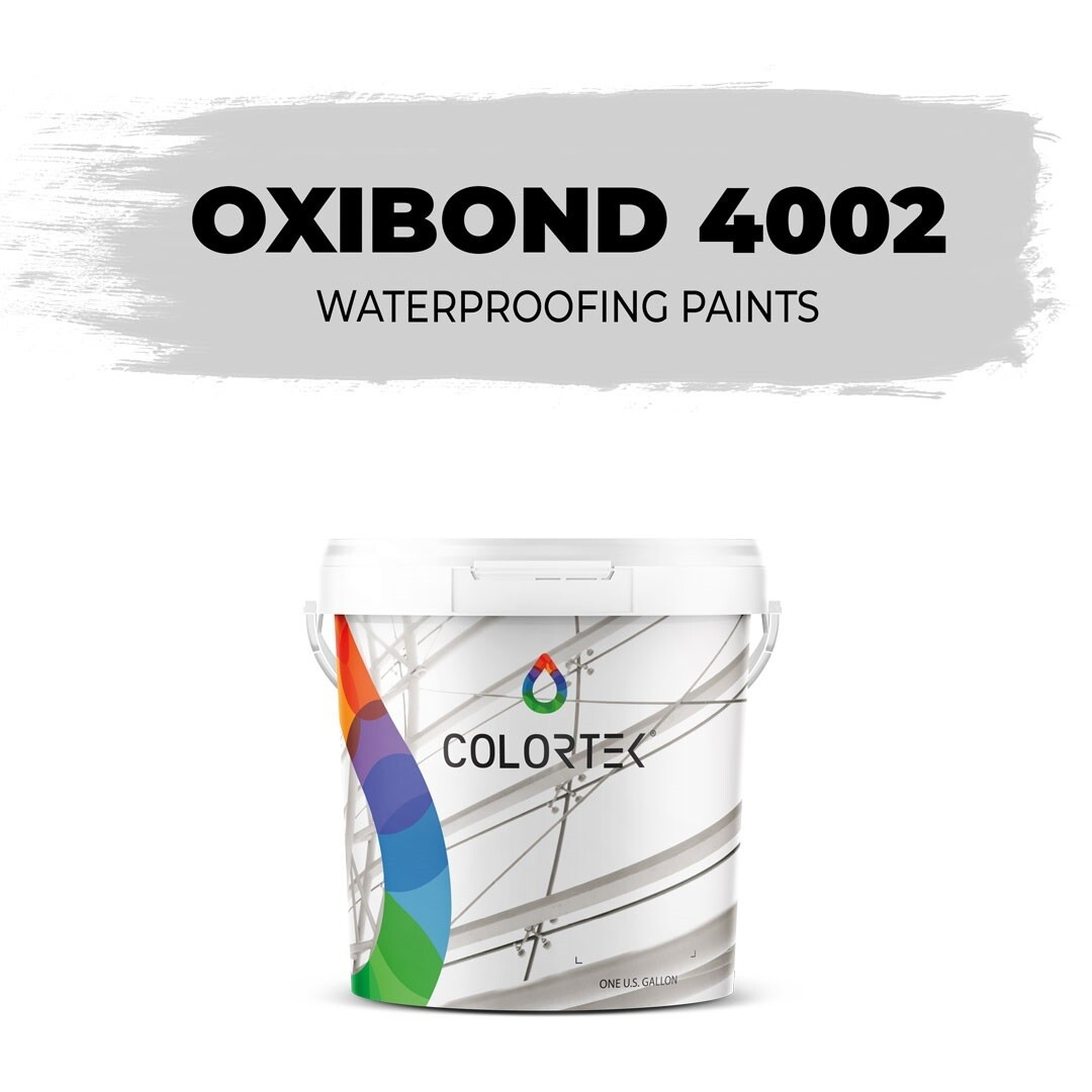 Oxibond 4002 - White Acrylic Waterproofing Paint