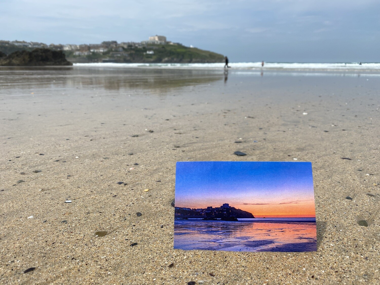 15X ECO postcard of Newquay