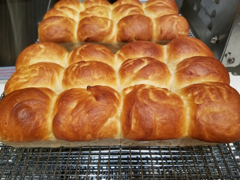 Vegan Hawaiian Sweet Bread Dinner Rolls