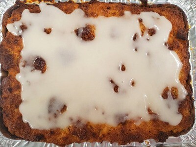 Hawaiian Sweet Vegan Bread Pudding