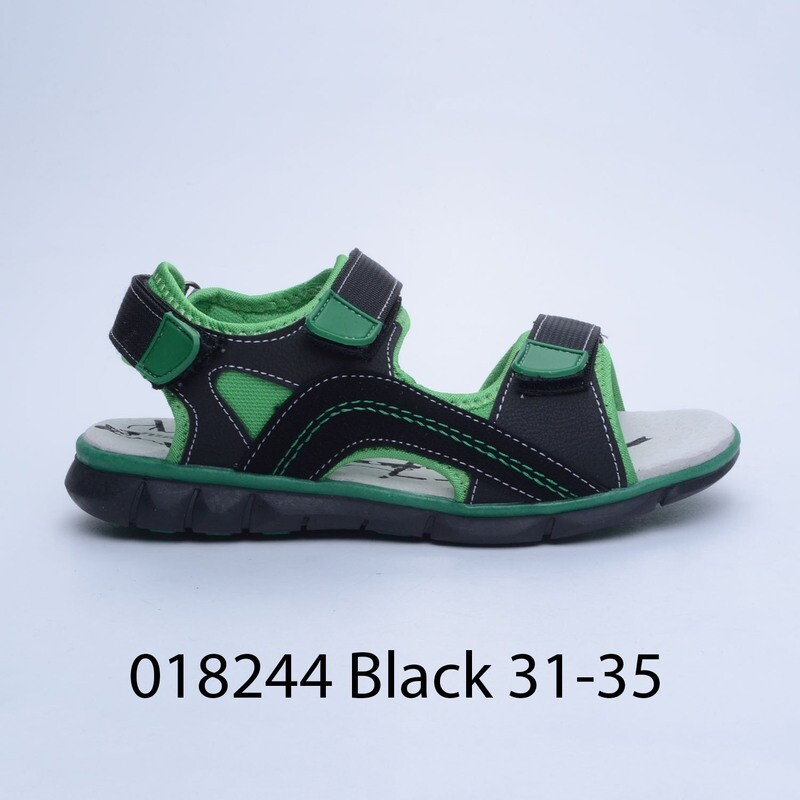 САНДАЛИ МОДЕЛ 018244 BLACK 31/35