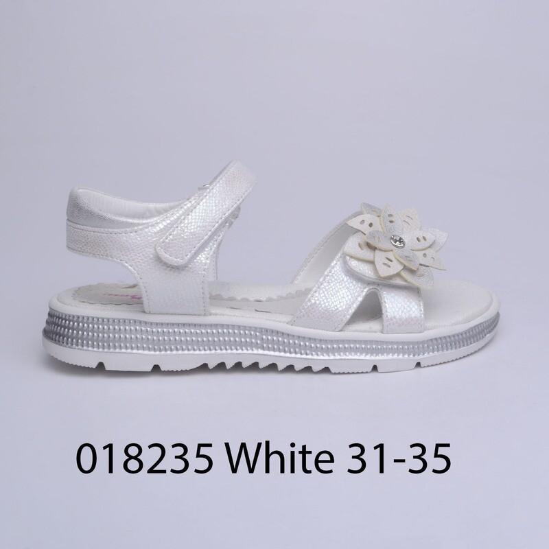 САНДАЛИ МОДЕЛ 018235 WHITE 31/35
