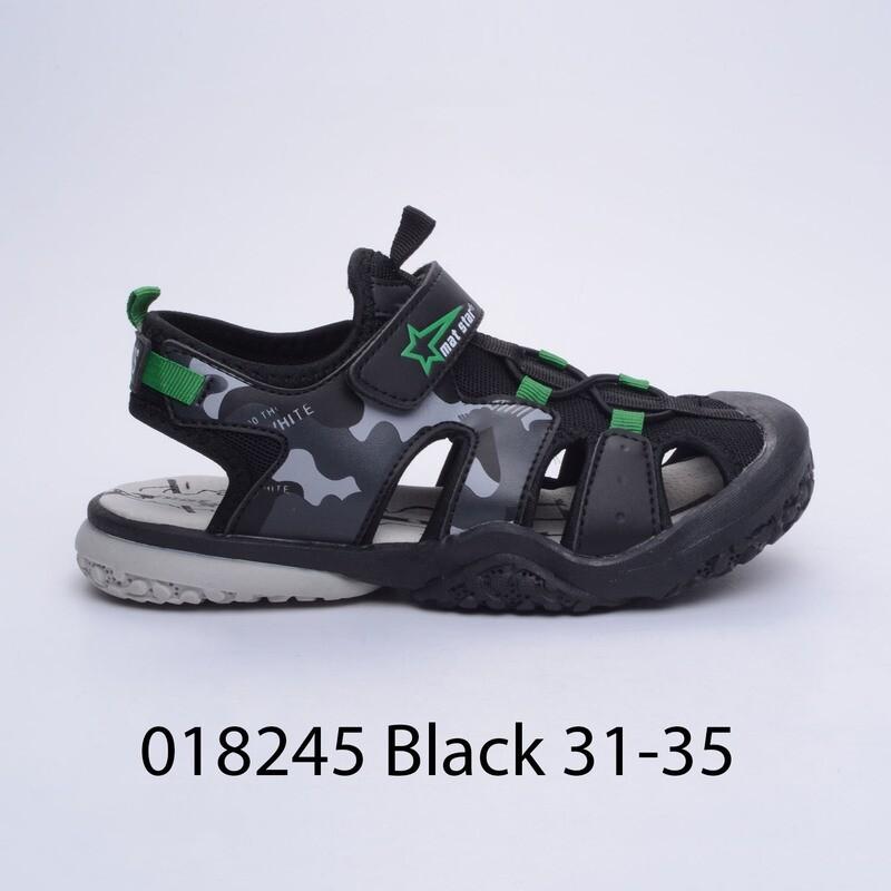 САНДАЛИ МОДЕЛ 018245 BLACK 31/35