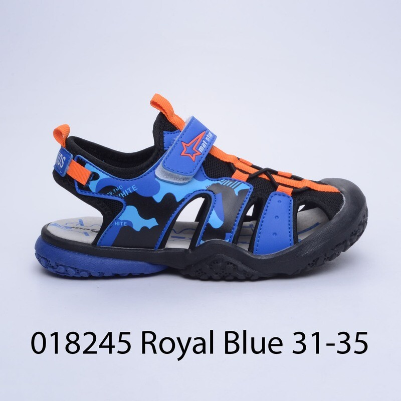САНДАЛИ МОДЕЛ 018245 ROYAL BLUE 31/35
