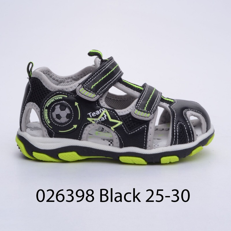 САНДАЛИ МОДЕЛ 026398 BLACK 25/30