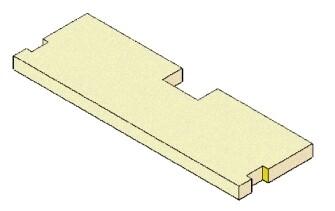 Vermiculite deflector MCZ