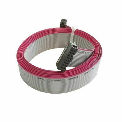Flat Cable pelletkachel display