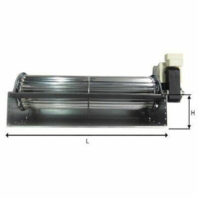 Ventilator Tangenziaal 27cm