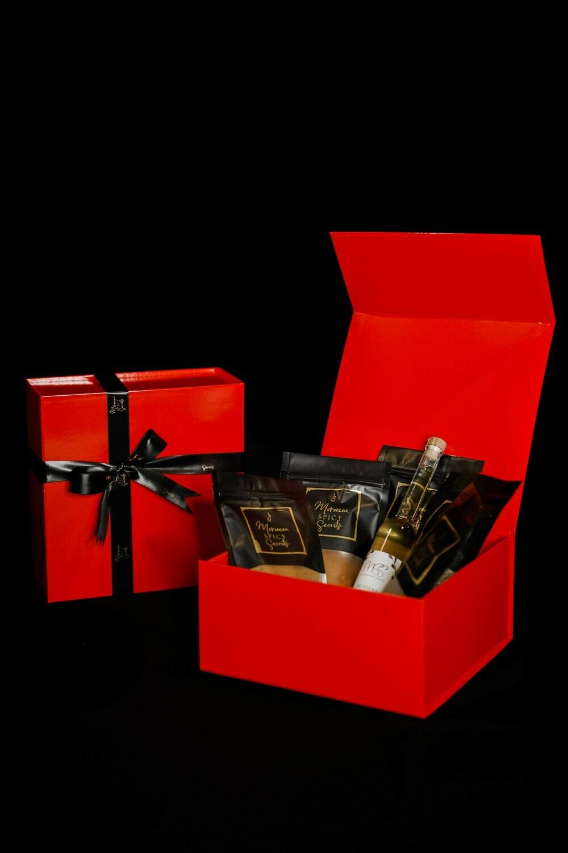 Luxe geschenkdoos 'Spiceblend'