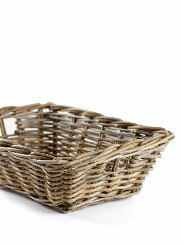 Chunky Woven Gathering Basket