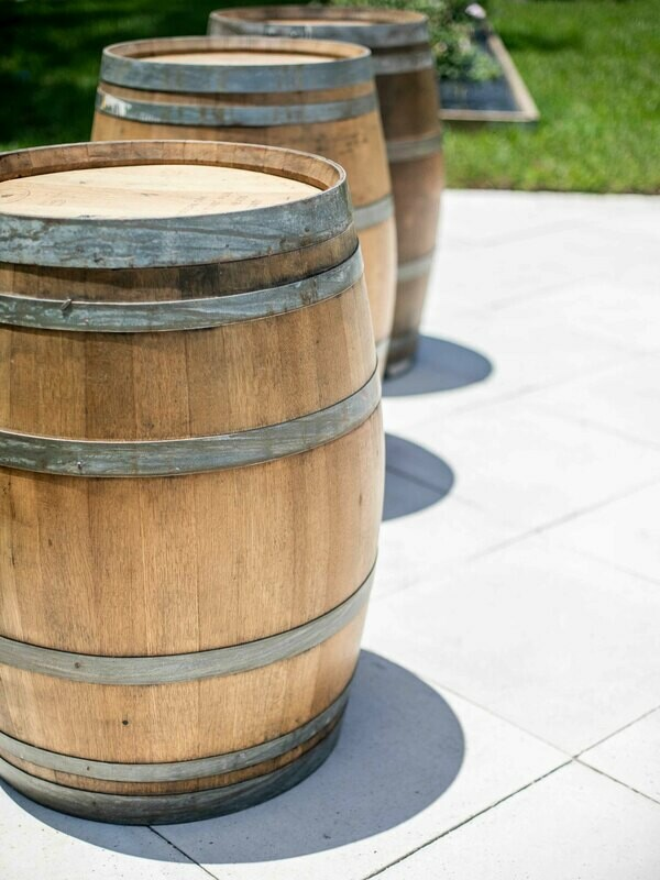 Authentic Oak Wine Barrel