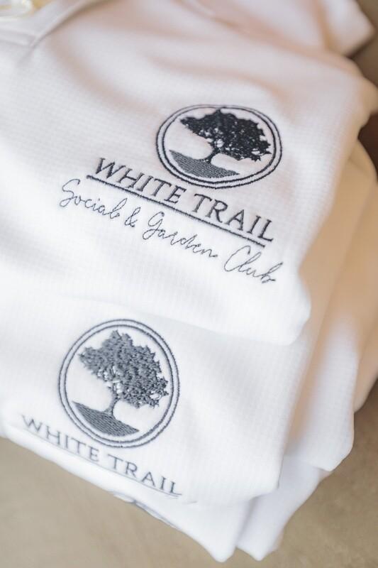 Ladies White Trail Club Polo