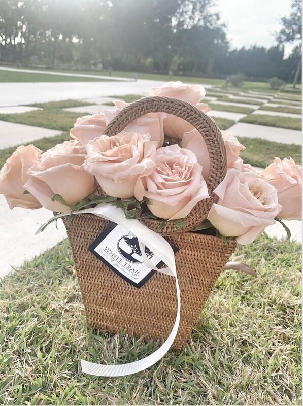 Tisket Tasket in P+S Rattan Basket Handbag