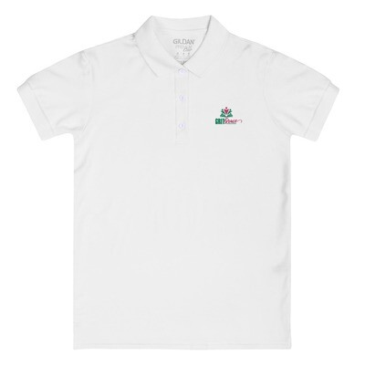 Grit & Grace Logo Embroidered Women's Polo Shirt
