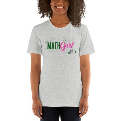 MATH GIRL Short-Sleeve Unisex T-Shirt