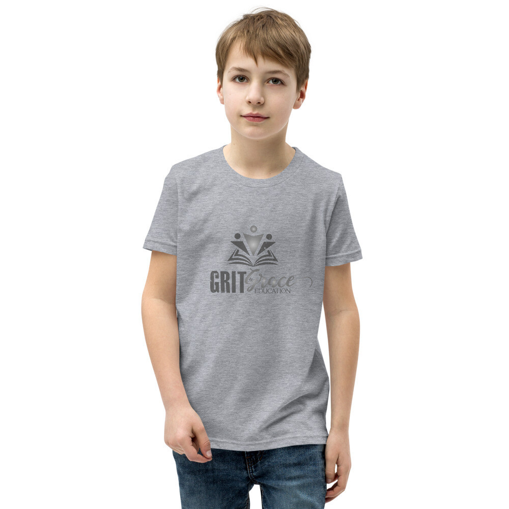 G&G Logo Youth Short Sleeve T-Shirt (Grayscale)