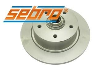 Disc brakes front 5x120.65