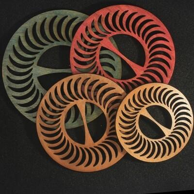 Wooden Scarf Ties