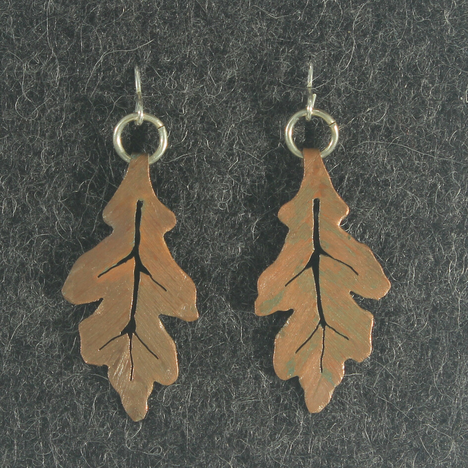 Copper Jewellery - Leaf Inspired