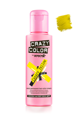 Crazy Colour Canary Yellow