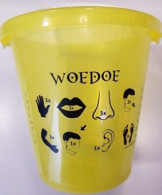 Woodoo emmer geel
