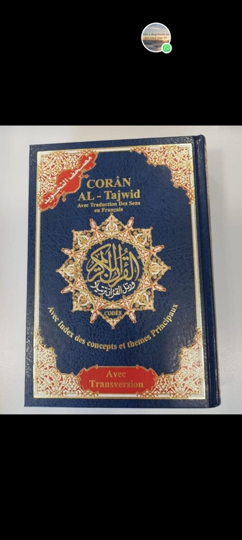 Koran Al Tajweed met franse vertaling