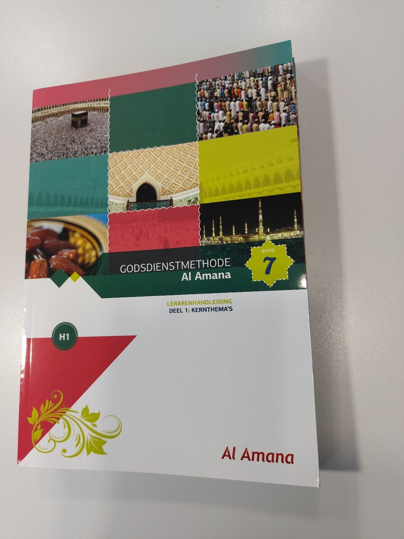 Godsdienstmethode Al Amana Lerarenhandleiding  Groep 7 deel 1