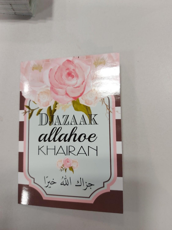 Djazaak Allahoe Khairan