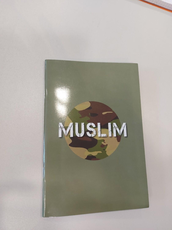 A5 schriftje met lijntjes Muslim