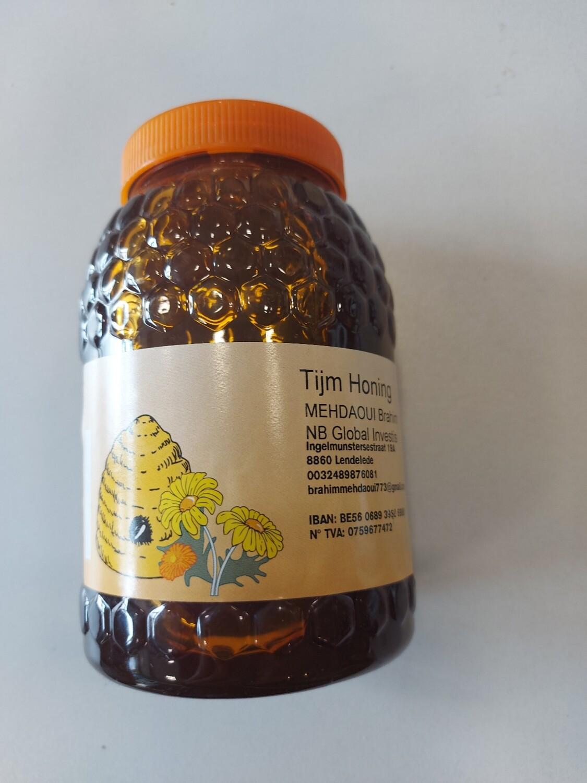Tijm honing 100% natuurlijk 500 gram