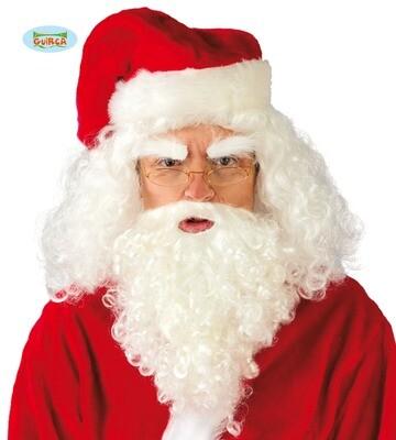 Kerstman baard en haar Guirca