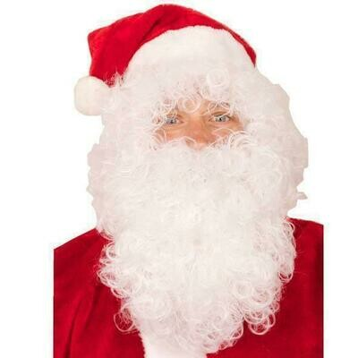 Kerstman baard en haar economisch