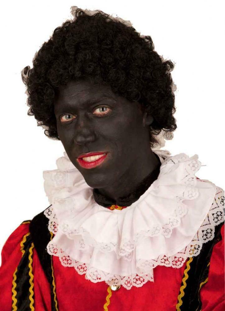 Pruik Zwarte Piet Korte krullen
