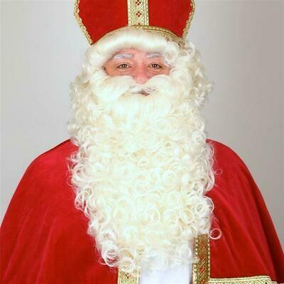 Sinterklaas Sint Nicolaas baard en haar