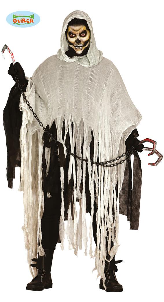Zombie Dead man walking kostuum volwassenen zwart / grijs