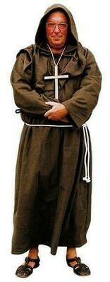 Pater kostuum Monnik volwassenen