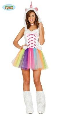 Unicorn kleedje verkleedkostuum Eenhoorn Medium voor volwassenen