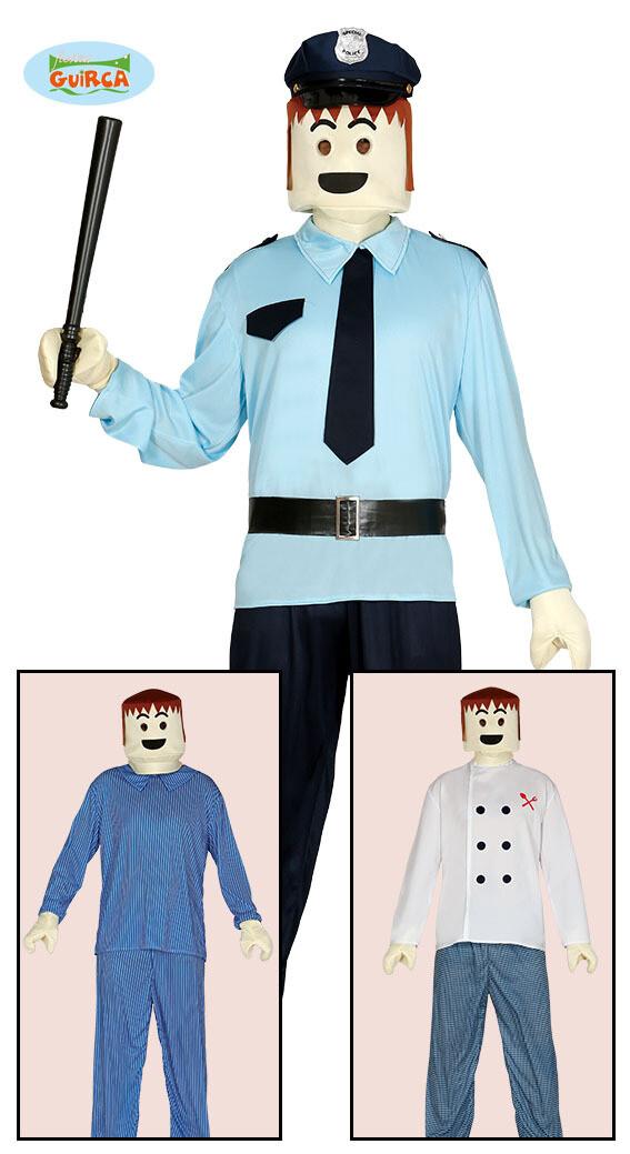 Playmobil verkleed handen en hoofd ! Voor volwassenen
