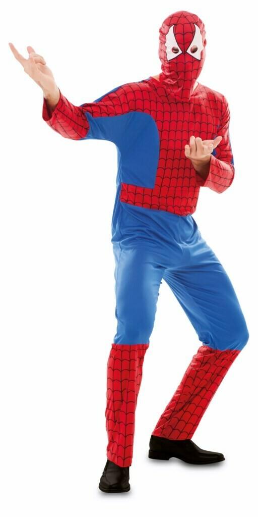Spiderman verkleedkostuum volwassenen maat XL