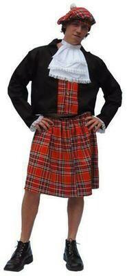 Schot verkleedkostuum volwassenen Schotse kledij man T 54