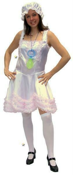 Baby doll kostuum volwassenen verkleedparty