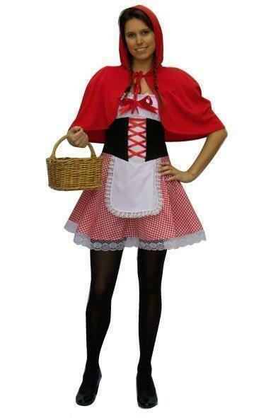 Roodkapje kostuum volwassenen