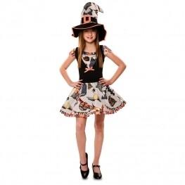 Kostuum heks verkleedkledij kind grappige Heks