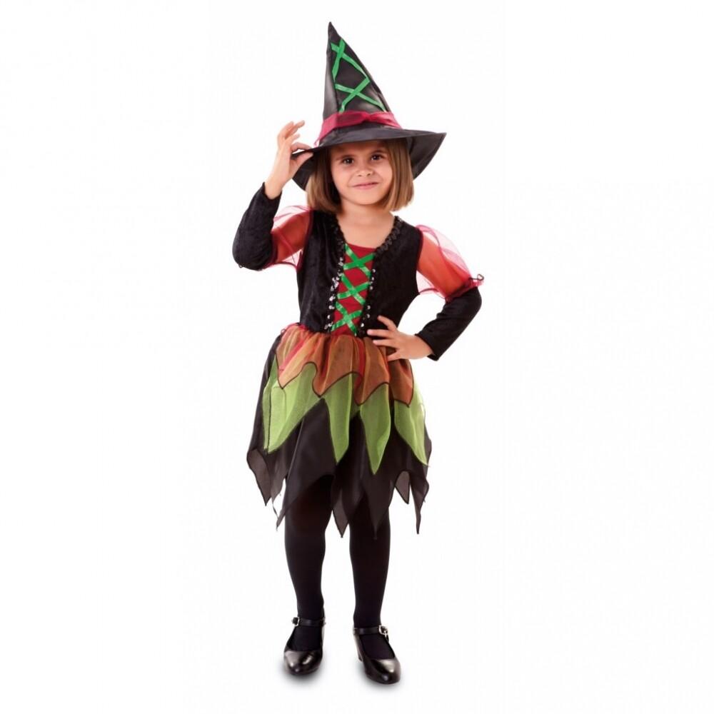 Kostuum heksje verkleedkledij kind 1 tot 2 jaar