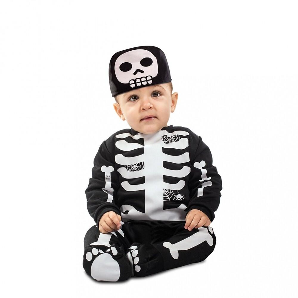 Skelet baby kostuum Halloween verkleedkledij geraamte
