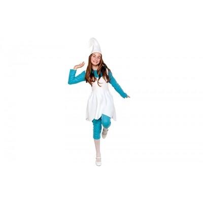Smurfin kostuum kind verkleedkledij stripfiguur en tekenfilm personage