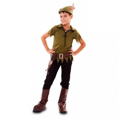 Robin Hood kind verkleedkledij kostuum Peter Pan