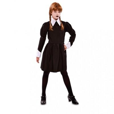 Wednesday Addams kostuum kind verkleedkledij Addams Family