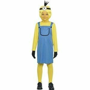 Minion girl kostuum kind verkleedkledij The Minions
